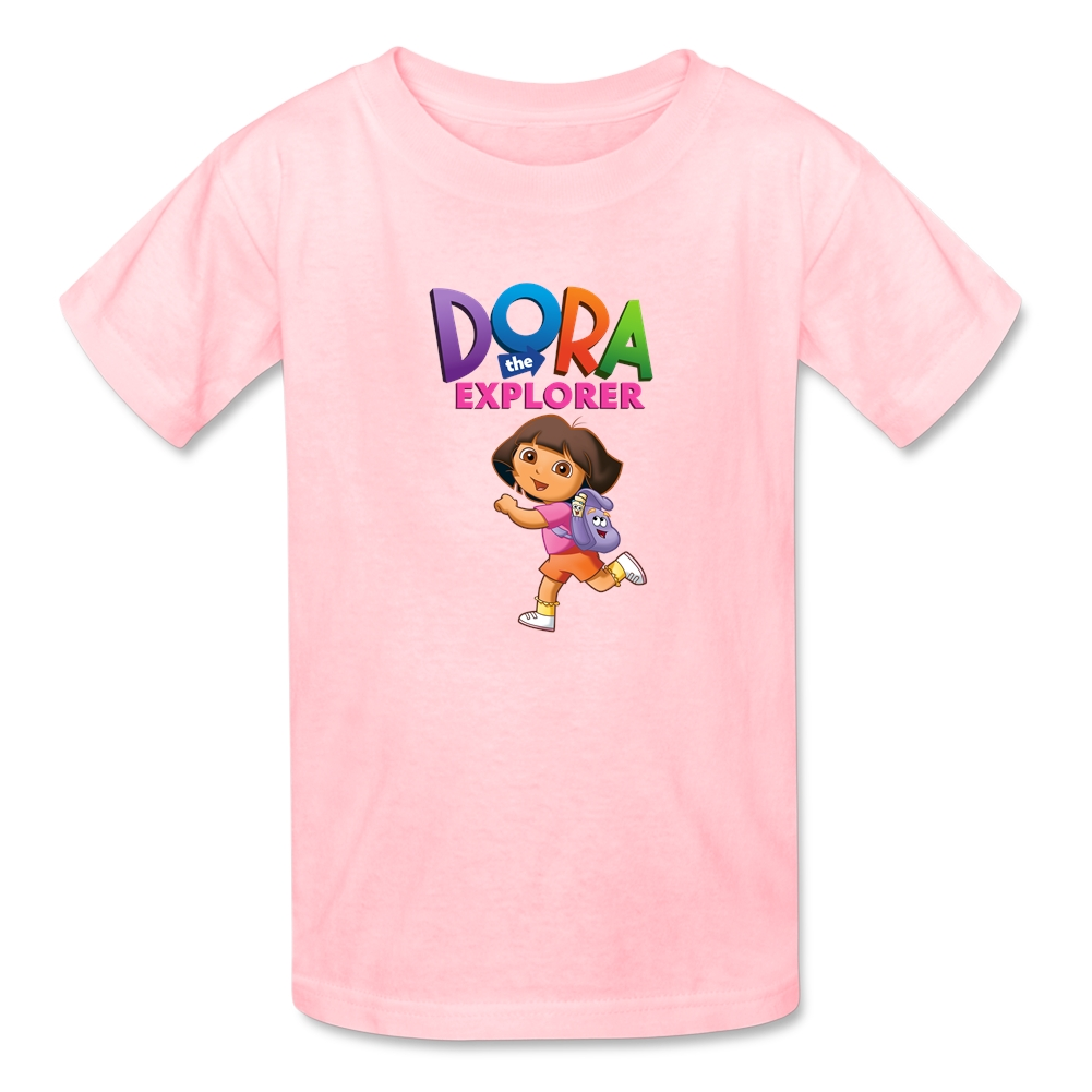Dora T Shirts Youth Short Sleeve Cartoon Baby T-shirt Boy Girl Summer Tee Shirt 100% Cotton Clothes Tops For Toddler 2017 New(China (Mainland))