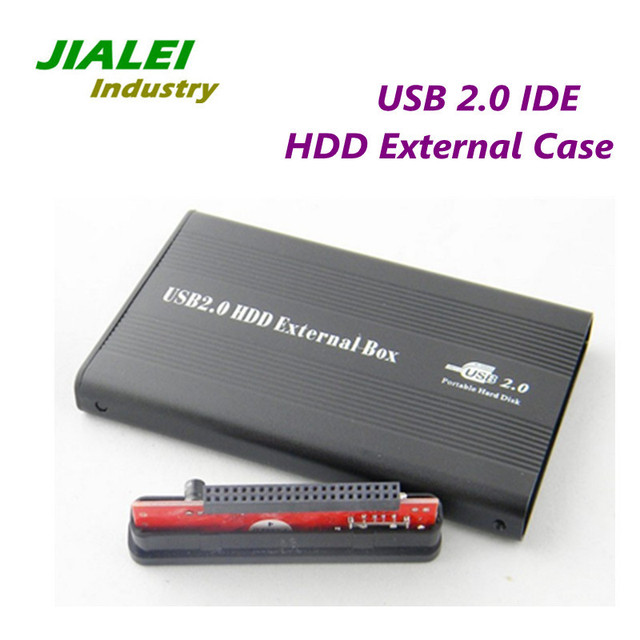 """Freeshipping 2.5"""" USB 2.0 HDD External Case IDE Port USB Hard Drive Disk Enclosure Wholesale Price"""