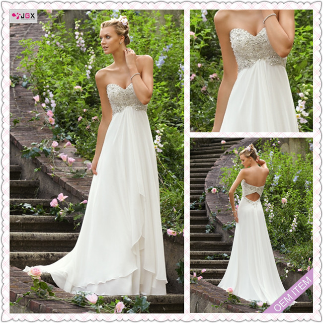 Very Simple Wedding Dresses: New Arrivals Off Shoulder A Line Floor Length White