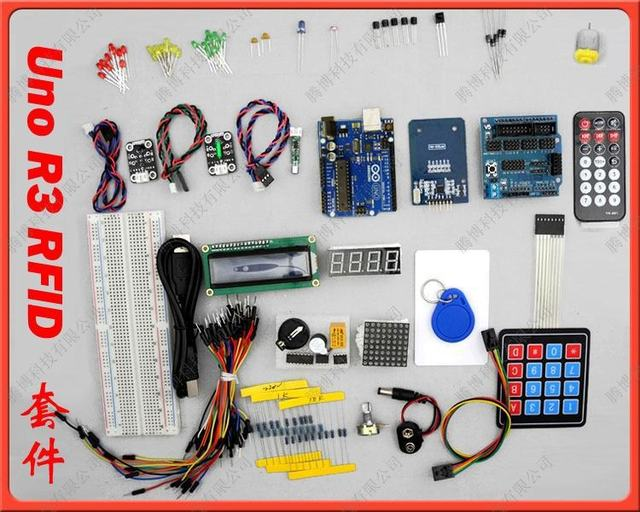 Starter Kit RFID access control system uno board R3 25 tutorial
