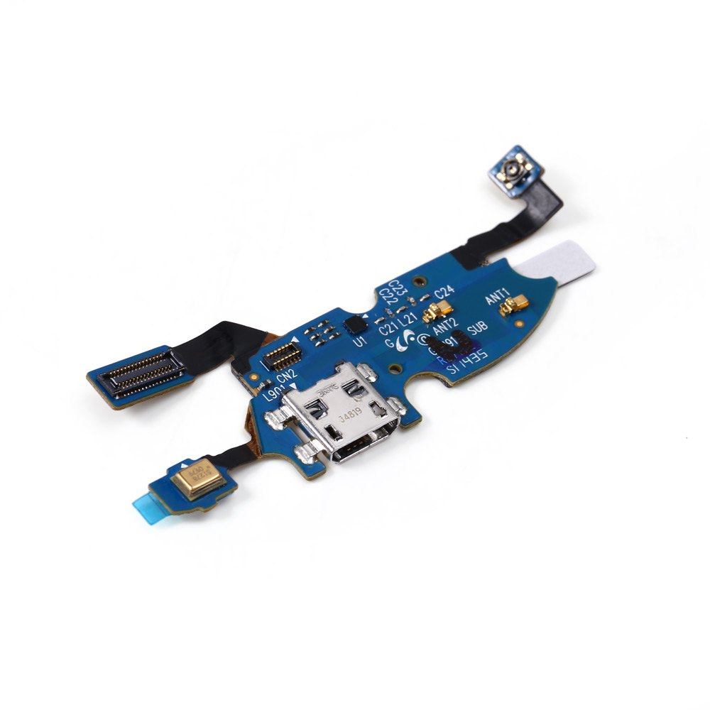 High Quality Spare Parts USB Charging Board Flex Cable Microphone for Samsung Galaxy S4 Mini(China (Mainland))