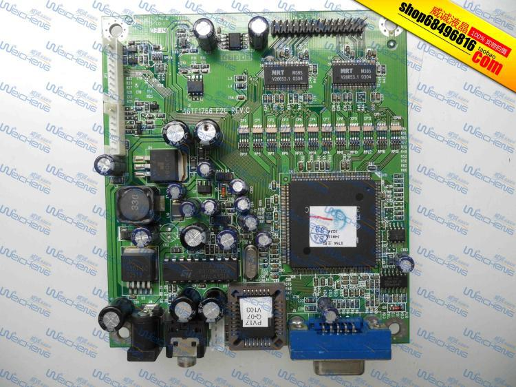 product Free Shipping> Power View PV1710 logic board 36TF1766 F2C driver board