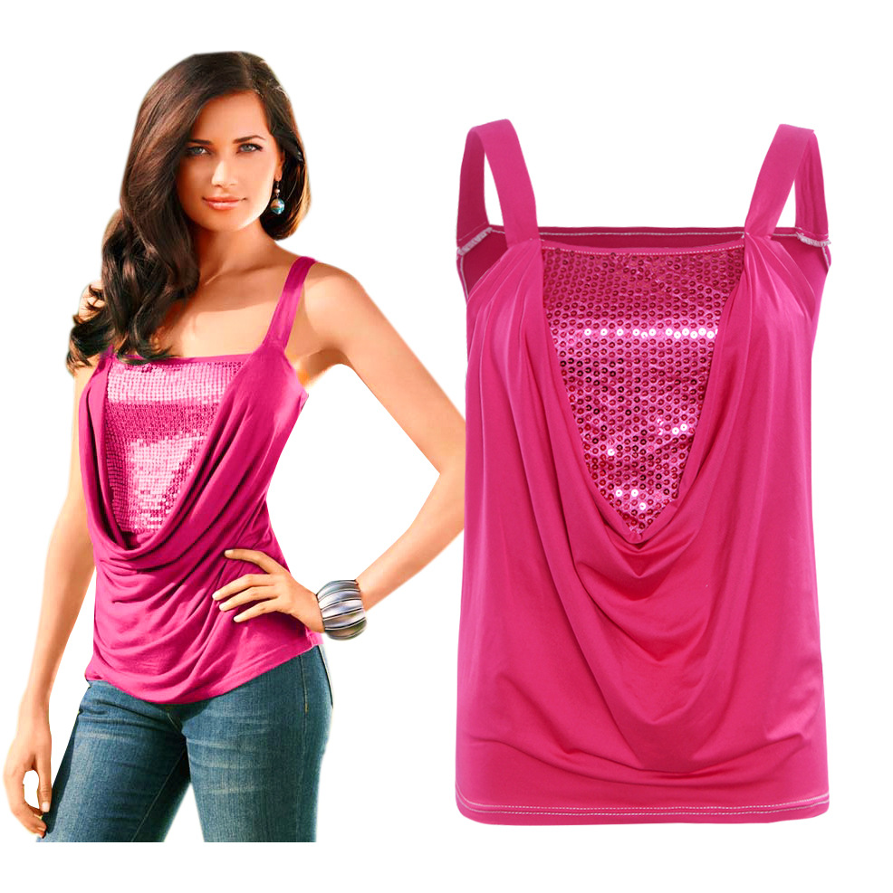 Tank top buy cheap red sequin tank top lots from china red sequin tank