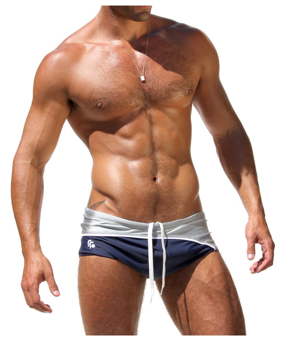 AQUX Brand Gay Mens Swimwear Swimsuit Men Swim Briefs Sexy Summer Men's Swimming Trunks for Swimming Shorts Surfing Swim Suit