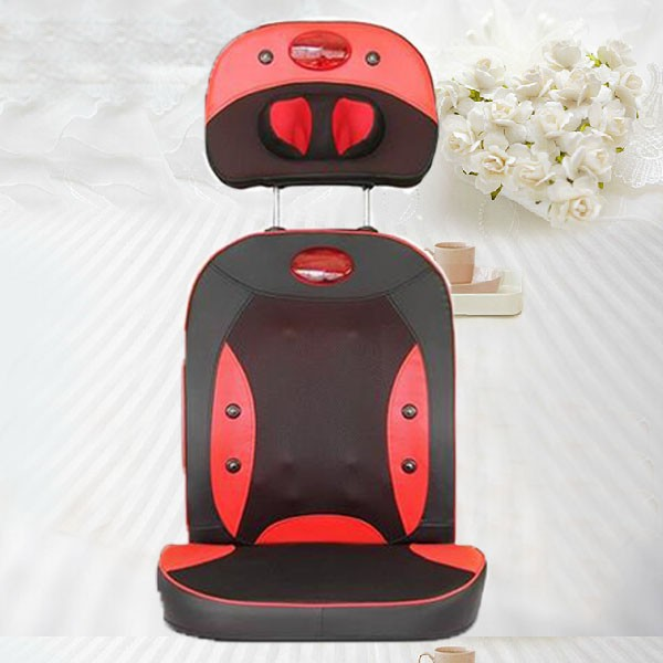 2016 Best Gift for Birthday Christmas Presents Massager Electric Kneading Shiatsu Neck Massage Cushion for Sale cheap