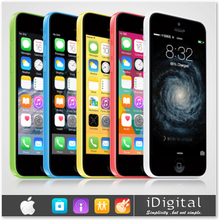 "Original apple iphone 5c entsperrt handy 32gb dual- Kern iOS 8 Netzhaut 4.0"" ips 1gb 8mp 1080p gps wifi 3g wcdma Smartphone(China (Mainland))"