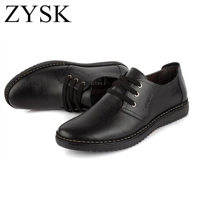 [ UShoes ] 2015 новинка мужская обувь кожаные ботинки мужские квартиры низкие мужчины ...