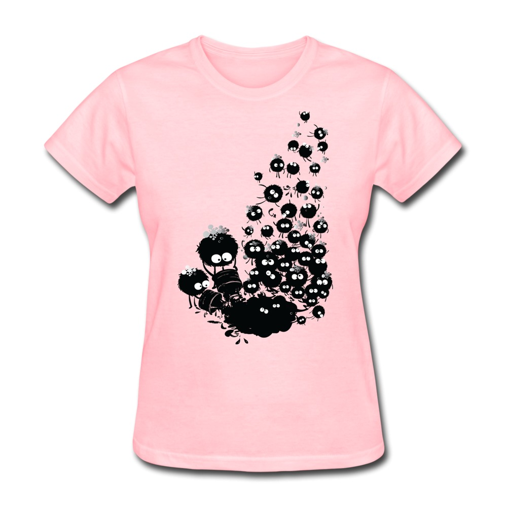 2015 hot Dust bubble monster shirts hip pop o-collar LadyCool tee shirt for Woman's(China (Mainland))