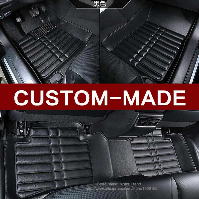 Custom fit car floor mats for BMW 3 series E90 E91 E92 E93 318d 320d 320i 325i 328i 325d 330d 335d 330i 335i 3D carpet liners <br><br>Aliexpress
