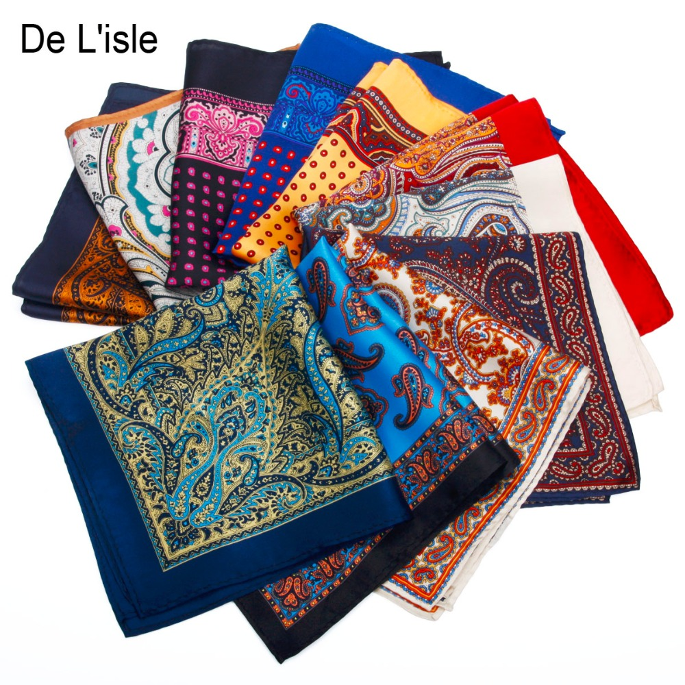 2016 New Fashion Men Pocket Square 100% Silk, Floral Print Handkerchief, Gift for Wedding Party Suit With Gift Box(China (Mainland))