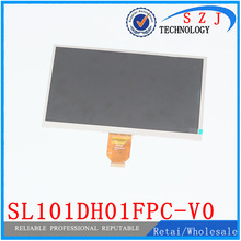 Original 10.1″ inch LCD display screen digitize panel SL101DH01FPC-V0 for Ainol NUMY 3G AX10T Dual-Core LCD Screen Free shipping