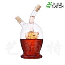 Glass spice bottle olive oil bottle vinegar oiler home   oiler home KITCHEN Storage Bottles Jars bottle, cap(China (Mainland))