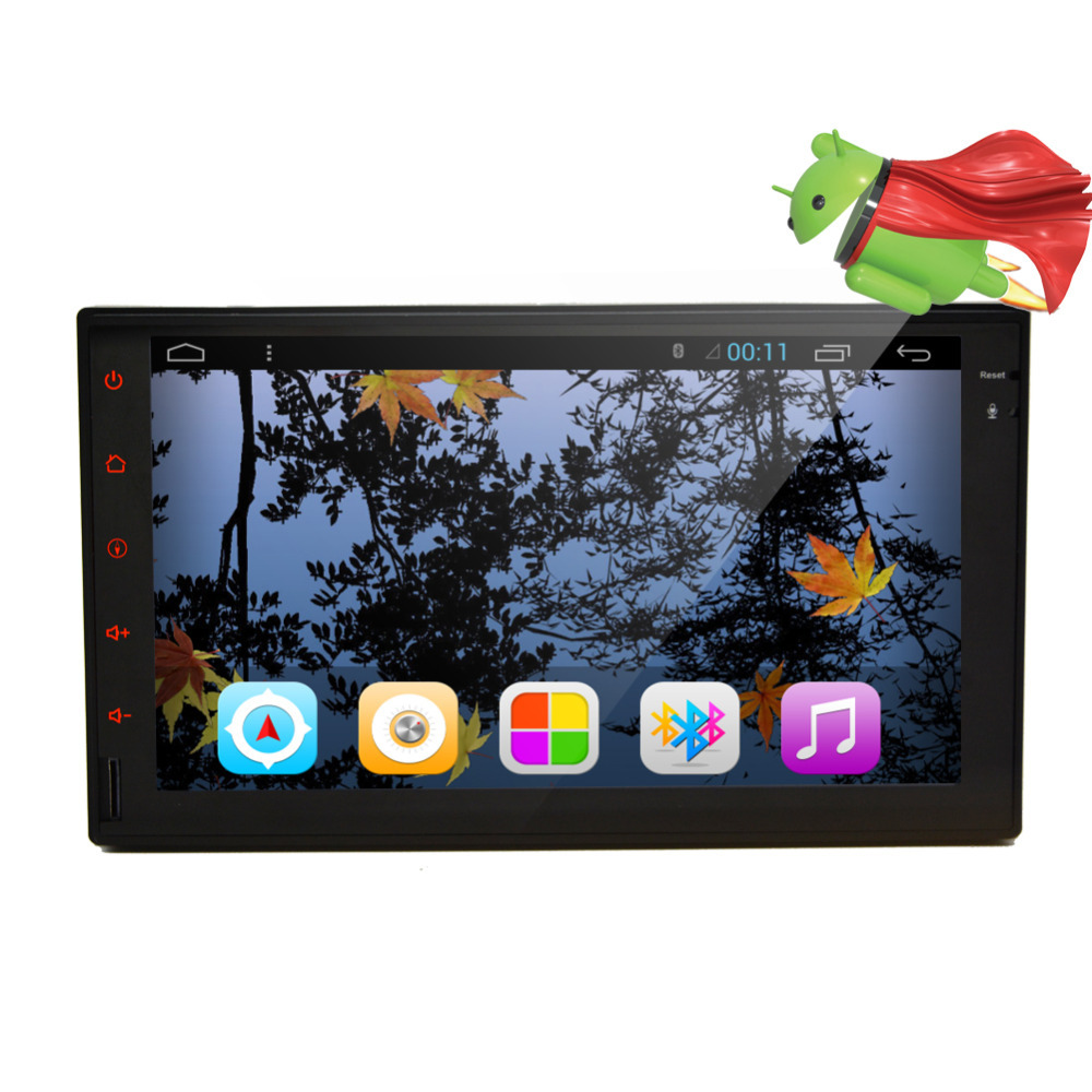 2015 Pure Android 4.2 Double 2din Car Radio Audio 7'' Full-Touch In-Dash GPS Nav Car PC Stereo NO-DVD mp3 Player WiFi BT USB NEW(China (Mainland))