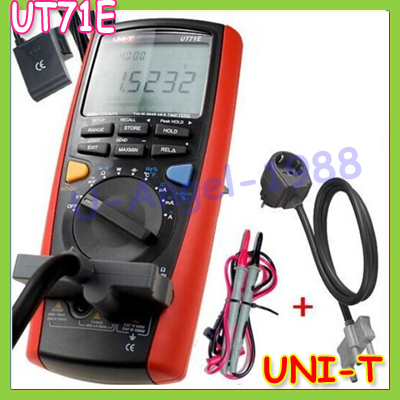 UNI-T UT71E Intelligent LCD Digital Multimeter With USB Interface Frequency Tester Meter 39999 Max+free shipping<br><br>Aliexpress
