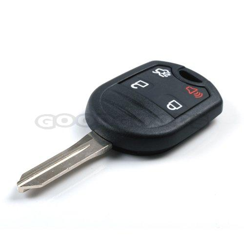 New Uncut Remote Keyless Fob Entry Key Case Shell for Ford Mercury Mariner Lincoln Fusion Edge Escape Mazda Taurus X 4 Buttons(China (Mainland))