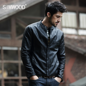 2015 New Arrivals Winter Autumn Brand PU Leather Jacket Men Motorcycle Leather Jackets Overcoat Jaqueta High Quality