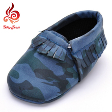 little kids study walk shoes tassels camouflage design children shoes cotton fabric fashion boys casual flat shoes 3 colors