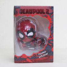 10cm super-herói deadpool q visão bala dedeleting deadpool figura de ação modelo brinquedo(China)