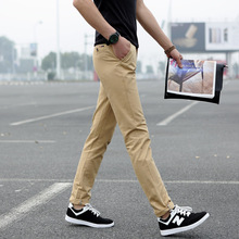 2015 New Arrival Fashion Men Pants Casual Slim Fit Pants Men Cotton Twill Skinny Chinos Plus Size 28-42 Casual Pants For Men(China (Mainland))