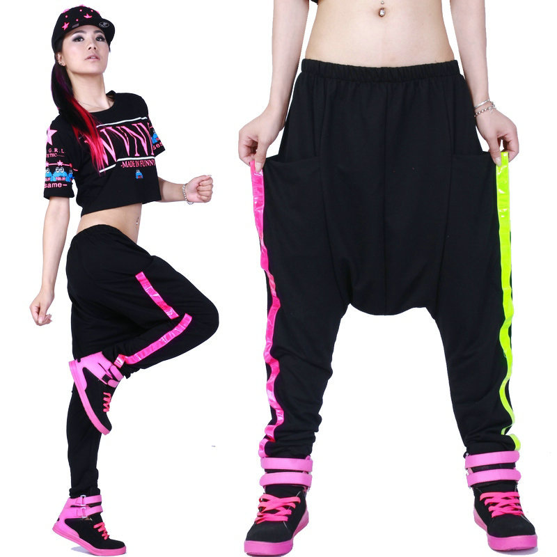 Hip hop harem pants for women with model type in australia for Hip hop outfit damen