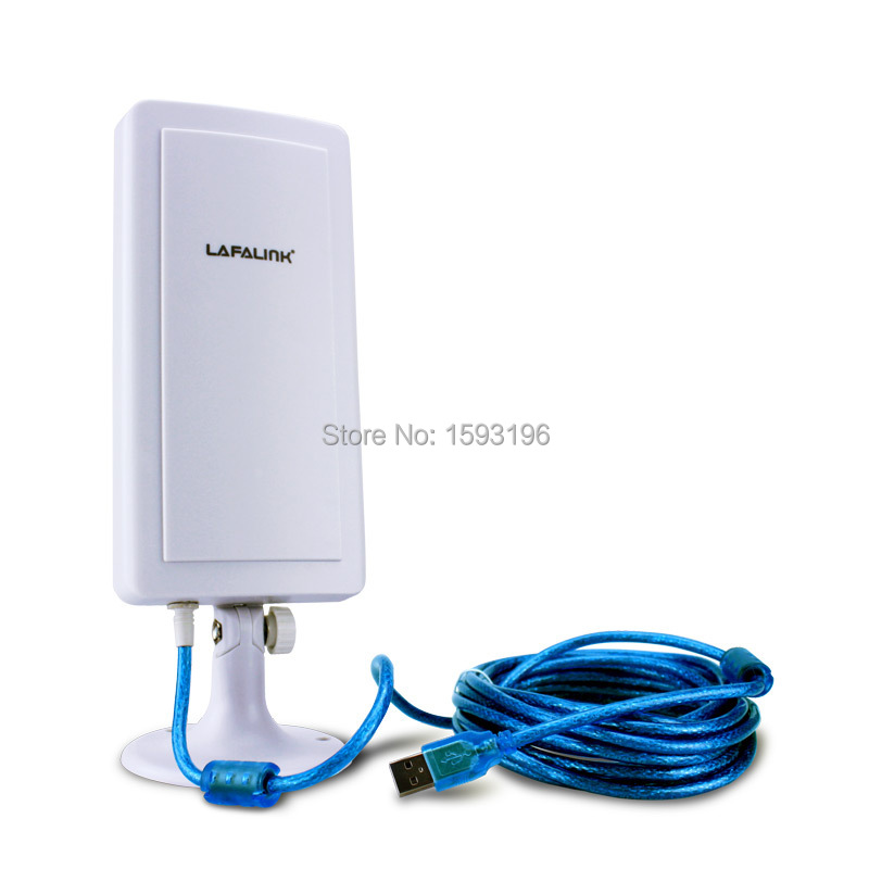 High Power Long Range Distance Outdoor Booster Hot Spots USB 150Mbps Wifi Wireless Adapter with Antenna 5m Cable Dropshipping(China (Mainland))