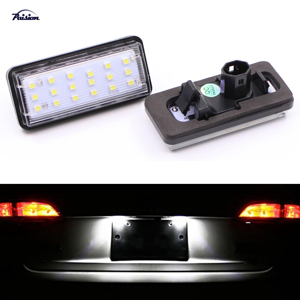 Direct Fit LED Number License Plate Light Kit White Lexus LX470 GX470 LX570 Toyota Land Cruiser Prado Reiz 4D Mark X