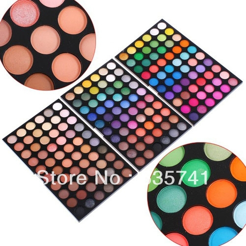 180 Colors Professional  Neutral Eye Shadow Makeup Kit Set EyeShadow Palette Free Shipping<br><br>Aliexpress