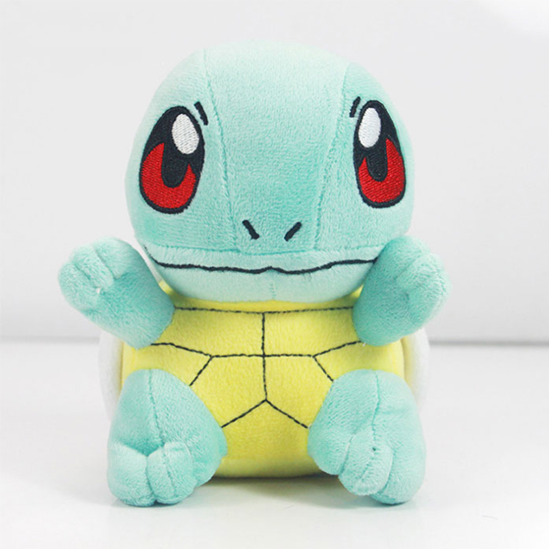 Hot Sale High Quality Pokemon Squirtle Plush Toy 7inch Stuffed Doll PP Cotton Toys Baby Toy Best Gift HT2625(China (Mainland))