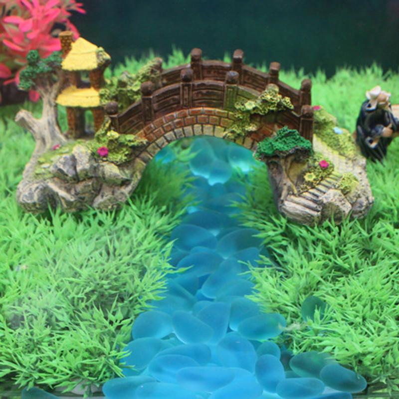 Crystal blue aquarium promotion shop for promotional for Aquarium stone decoration