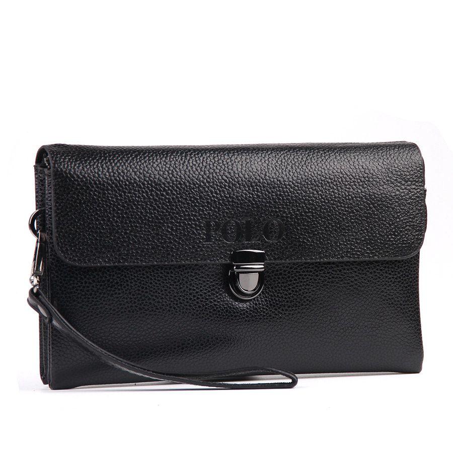 2016 Designer Genuine Leather Wallets Men Wallets Clutch Carteira Masculina Carteras Male Handy Bags Purse Mens Monederos Wallet(China (Mainland))