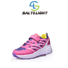 New style children shoes Heelys girls boys roller breathable wheels shoes rollerskate trainers kids fashion sneakers