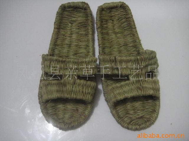 Supply handmade sandals hemp sandals natural hemp slippers