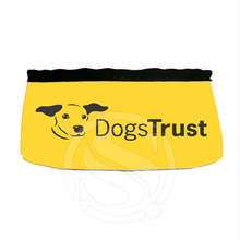 Custom I love my dog Oxford Waterproof Cloth Dog Bowl Outdoor Portable Collapsible Easy Taking Feeding Water Travel Bowl SQ0883(China (Mainland))