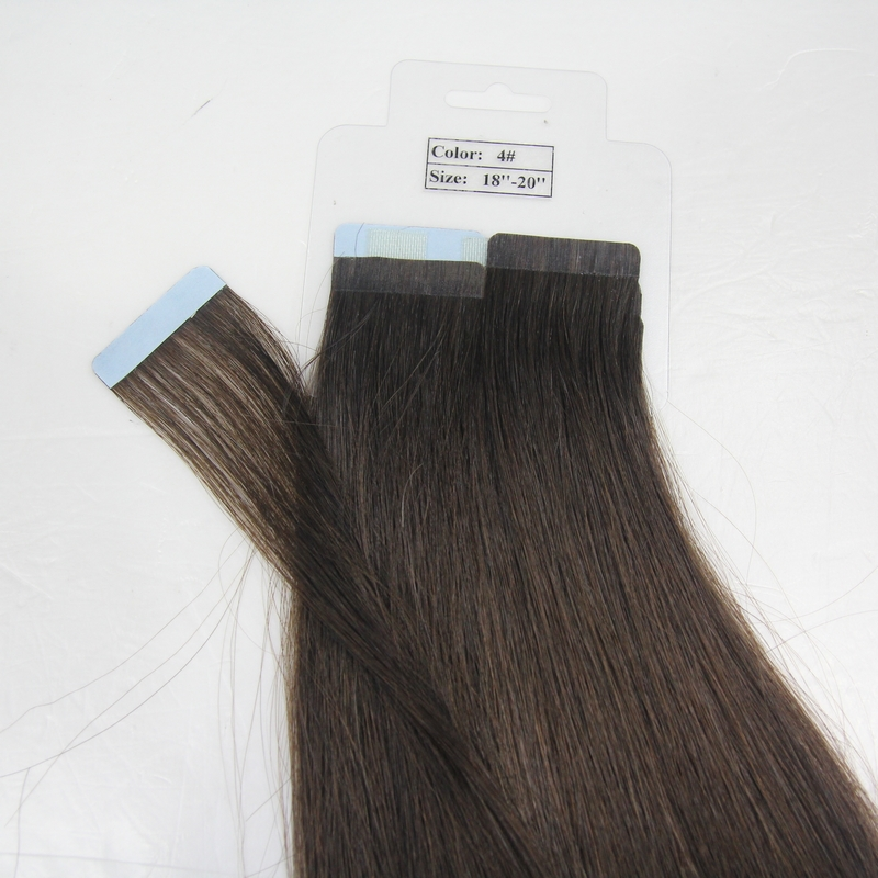 PU hair extensions 20inch blonde color<br><br>Aliexpress