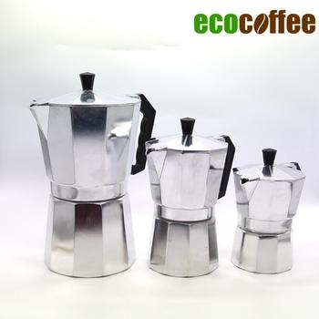 Бесплатная доставка эспрессо алюминиевый мока кофе