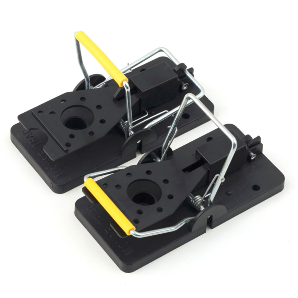 2 pcs Rat Trap Heavy Duty Snap-E Mouse Trap-Easy Set Catching Catcher Mouse Trap Mice Trap 2016 New Arrival Free Shipping(China (Mainland))