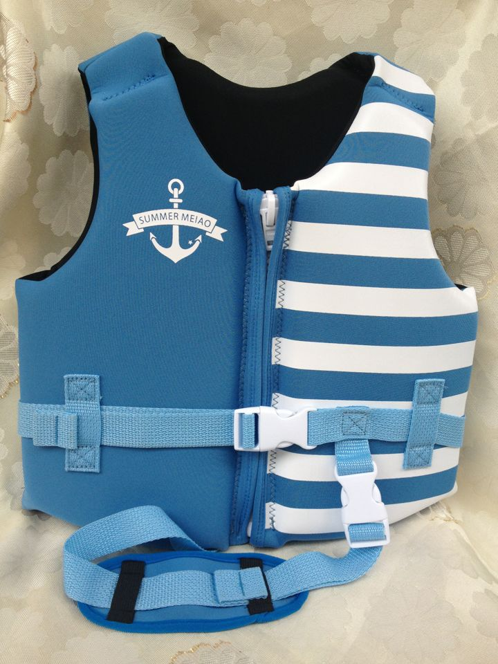 Navy style neoprene fabric life jacket professional buoyancy clothing drifting keep warm life vest for kids and adults(China (Mainland))