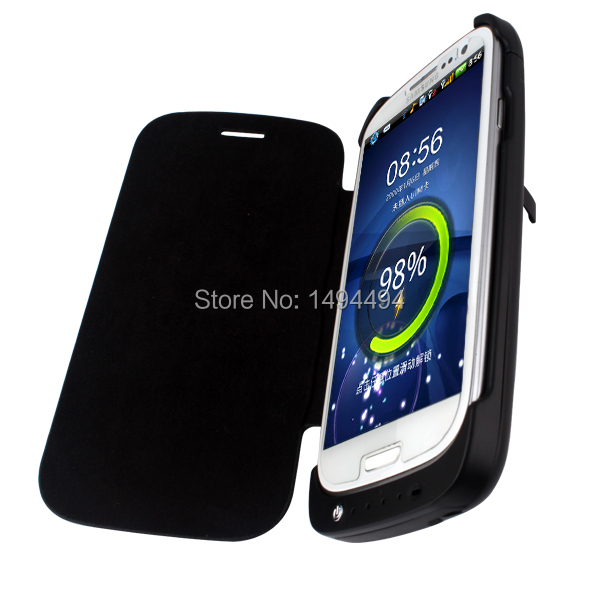 3200mah Portable Ultra Slim External Battery Charger Power Bank Protective Case cover for Samsung Galaxy S3 SIII i9300(China (Mainland))