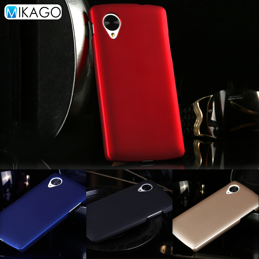 Grind arenaceous Hard Plastic shell sfor LG Nexus 5 Google Nexus 5 Case For LG Nexus 5 Google Nexus 5 Mobile Phone Cover Case(China (Mainland))