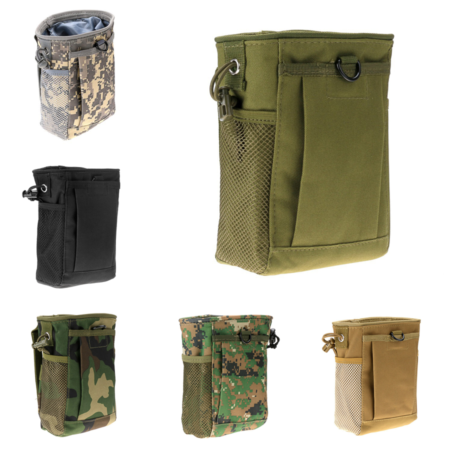 Military Molle Ammo Pouch Tactical Gun Magazine Dump Drop Reloader Bag Utility Hunting Rifle - Act4Ring store