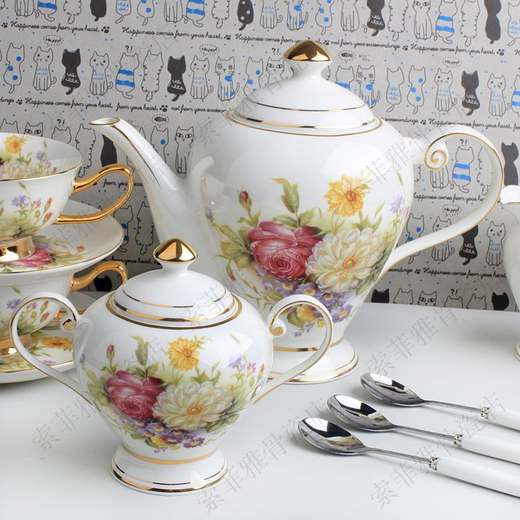 Gift 21 coffee set d Angleterre black tea set cup and saucer pot set coffee cup