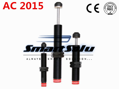 free shipping 1pcs AC2015 M20x1.5 Pneumatic Hydraulic Shock Absorber Damper 15mm stroke(China (Mainland))