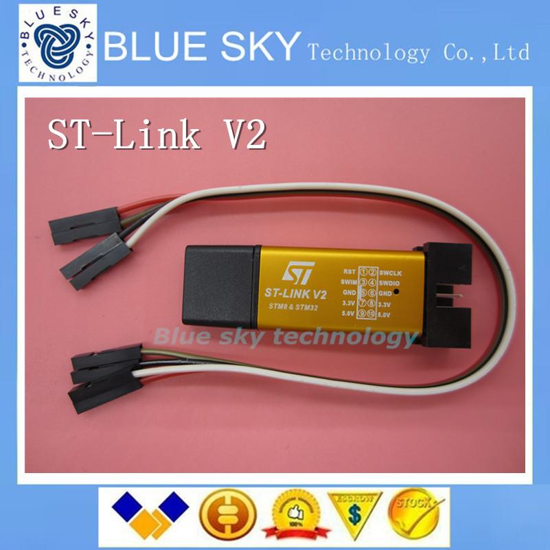 product new ST-Link V2 stlink mini STM8STM32 STLINK simulator <font><b>download</b></font> programming With Cover