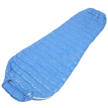 Aegismax M2 Lengthened Blue Wing Mummy Sleeping Bag Ultralight White Goose Down Outdoor Camping Hiking Saco de dormir 200cm*86cm(China (Mainland))