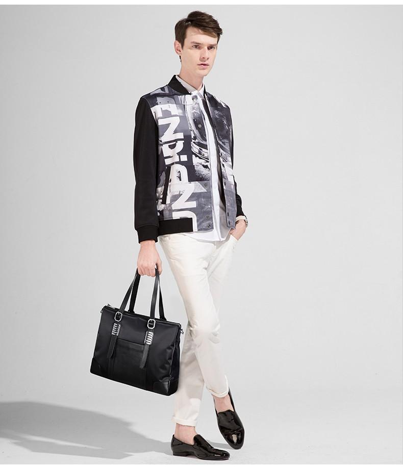Sammons men nylon briefcase 3