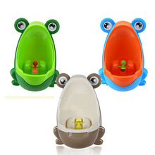 Cute Cartoon Frog Baby Potty Potties Children Kids Training Urinal Plastic Potties for Baby Boy Wall Mounted 3 Color E#CH