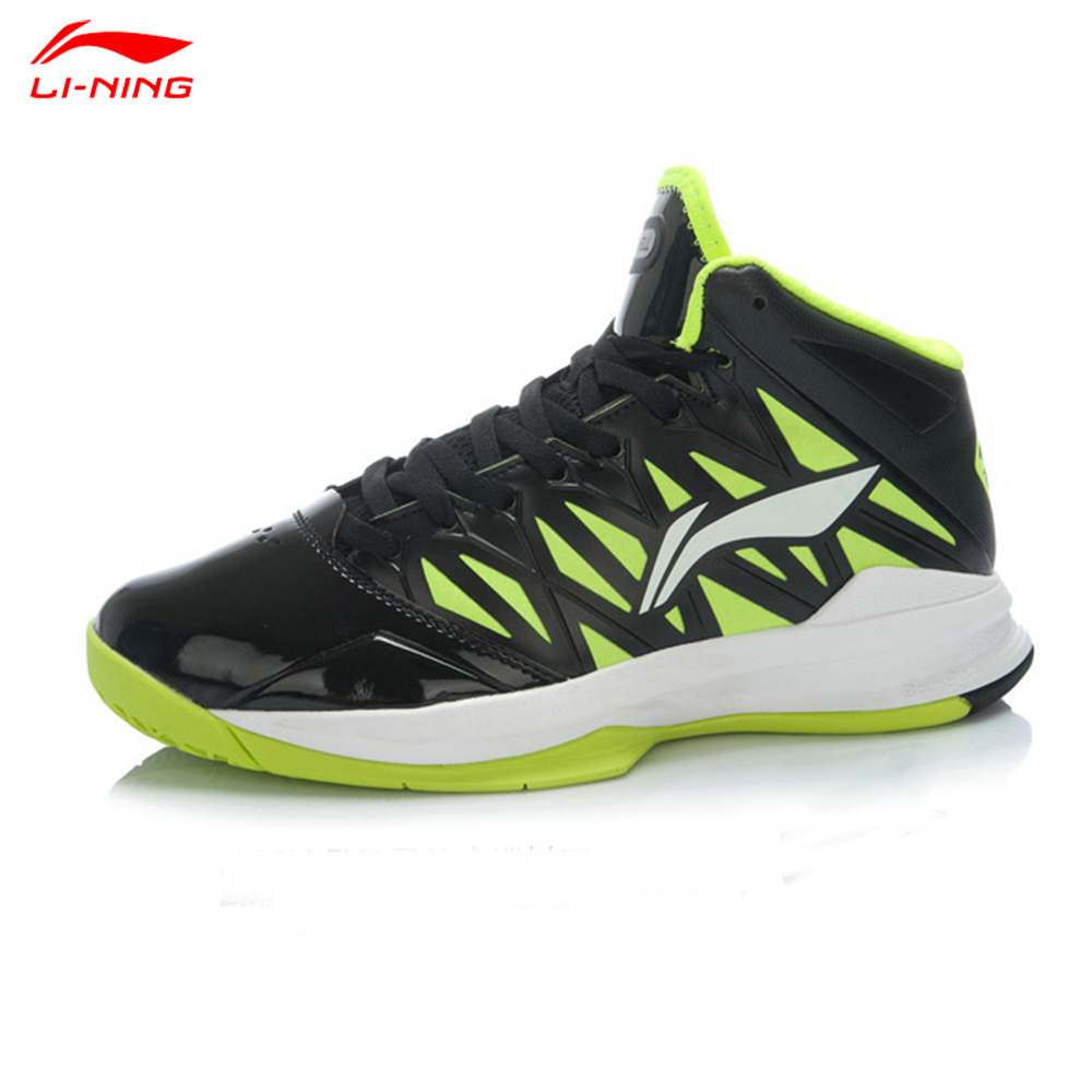 2015 New Li-Ning Men Basketball Shoe Breathable Medium Cut Men Lining Professionals Basketball Shoe ABPJ081(China (Mainland))