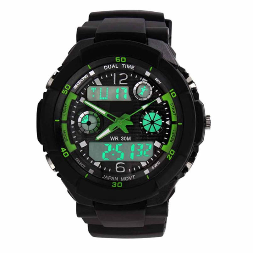 Excellent Quality 2016 Mens Quartz Digital Watch Sports Watches Relogio Masculino Relojes LED Military Waterproof Wristwatches<br><br>Aliexpress