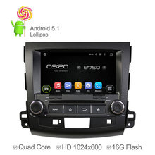 8 inch HD 1024*600 Car DVD Player Android 5.1 Mitsubishi OUTLANDER 2006 2007 2008-2012 GPS Navigation Radio 16GB Nand - Winlink Top D V Supplier store