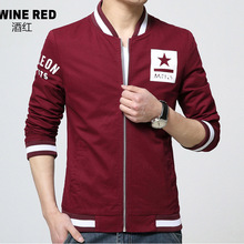 2016 Fashion Slim Fit Jacket Plus Size M-4XL High Quality Jacket Coat Top Design Winter Jacket Men Free Shipping(China (Mainland))